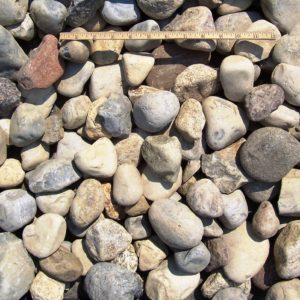 1 to 3 inch delaware river gravel