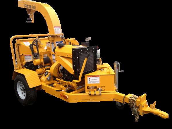 yellow chipper 6 inch diesel