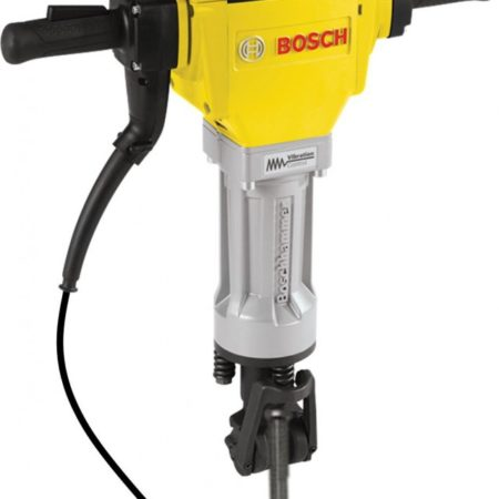 yellow electric jackhammer