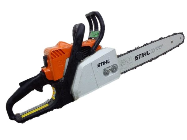 "14"" stihl chainsaw with 1 chain"