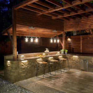 luxury stone landscaping ideas