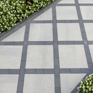 patterned stone walkway ideas