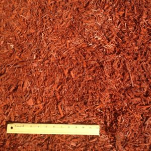 Sun-Kissed Red Mulch