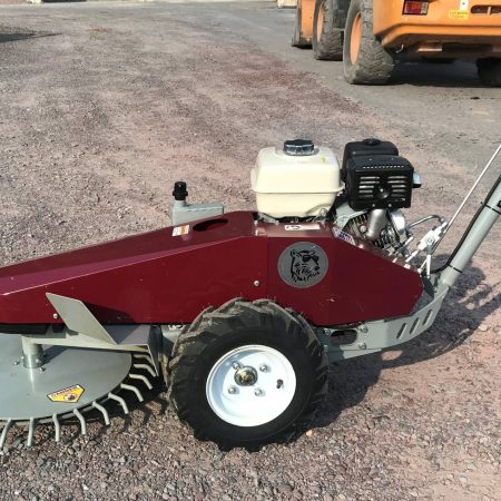 Self Propelled brush cutter